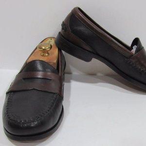Marmocs Handmade Size 8 Black Loafer Mens Shoes